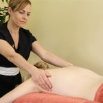 Full body and facial aromatherapy massage